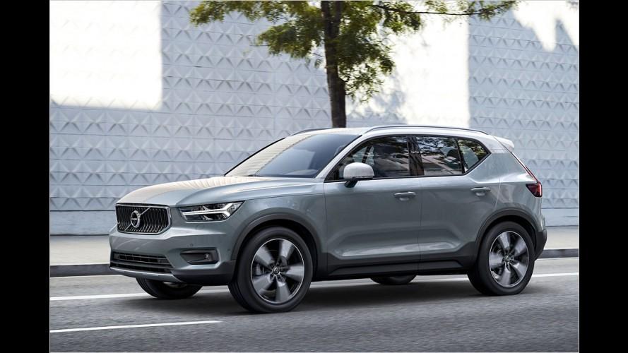 Volvo XC40: Alles zum neuen Schweden-SUV
