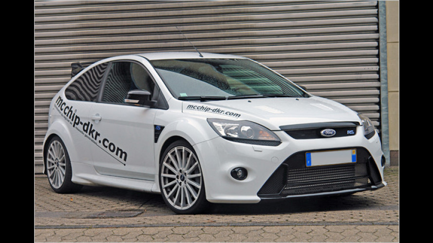 Jetzt 401 PS: Mcchip-dkr powert den Ford Focus RS