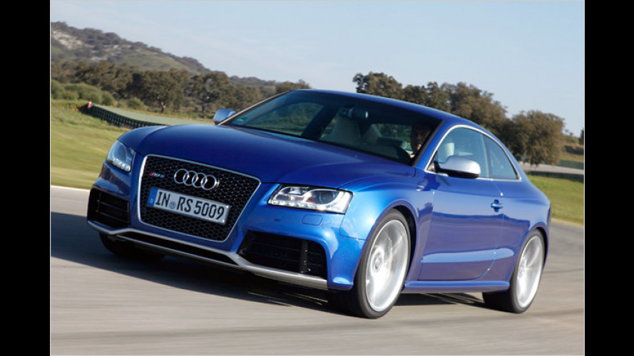 Test Audi RS 5 Coupé: Hoch – tief – schnell