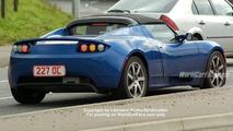 SPY PHOTOS: Tesla Roadster and Lotus Esprit