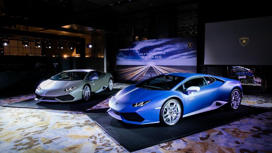 Lamborghini Huracan Avio launch à Hong Kong