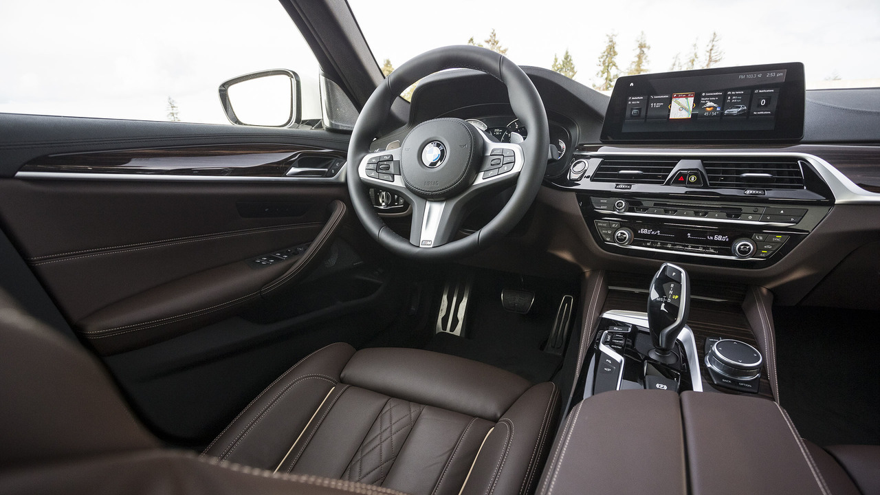 2017 Bmw 5 Series First Drive A Supercomputer For The Serious Driver