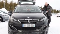 2018 Peugeot 508 spy photos