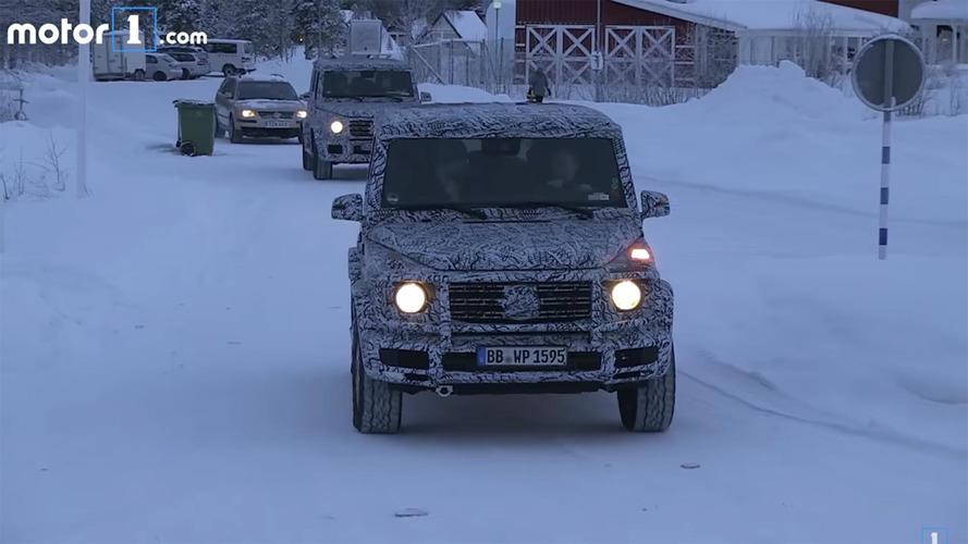 2018 Mercedes G Sınıfı kış testinde görüntülendi