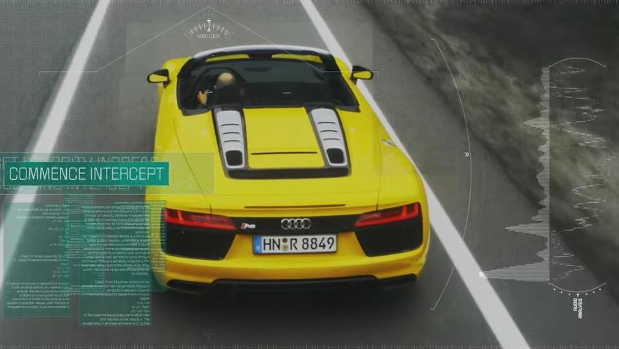 VIDÉO - Quand un drone défie la nouvelle Audi R8 Spyder
