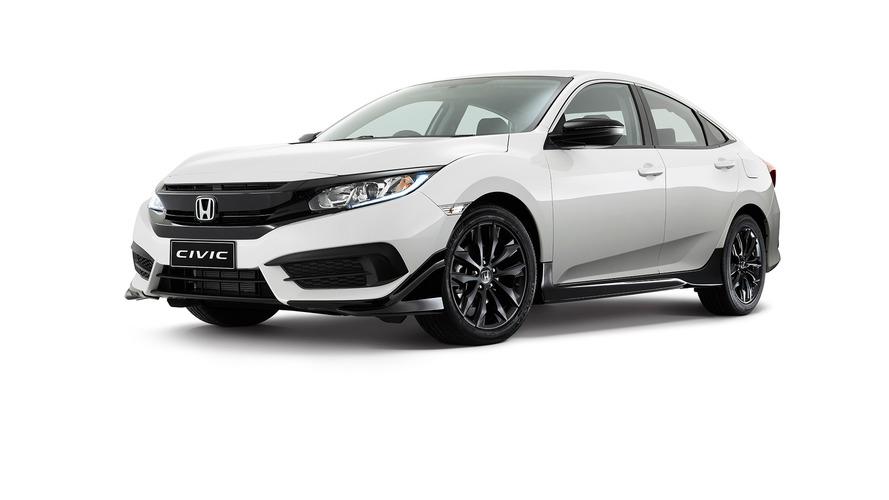 Honda Civic Black Pack Edition is an accessories showcase