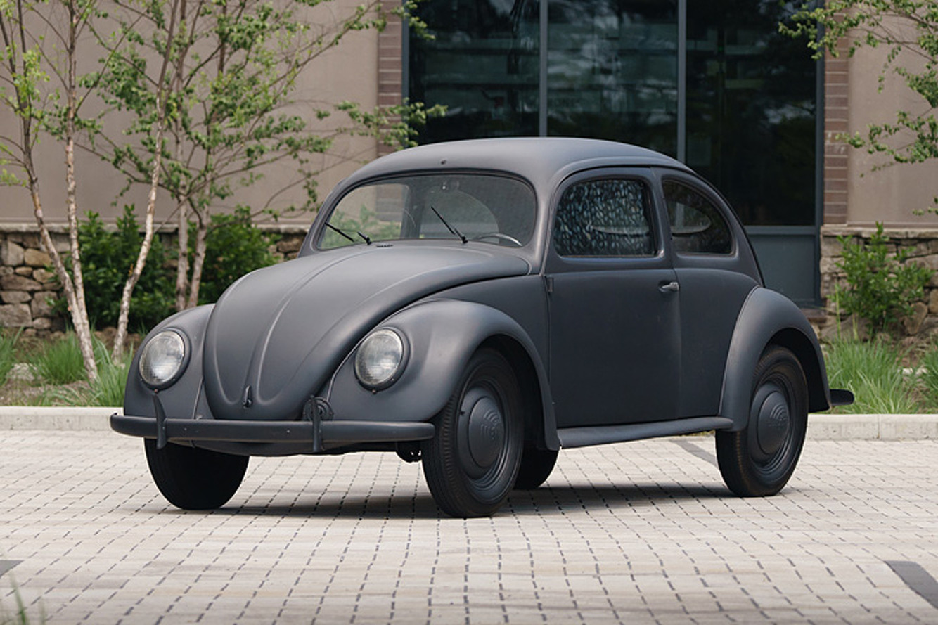 You Won't Believe How Much this 1943 Beetle Costs