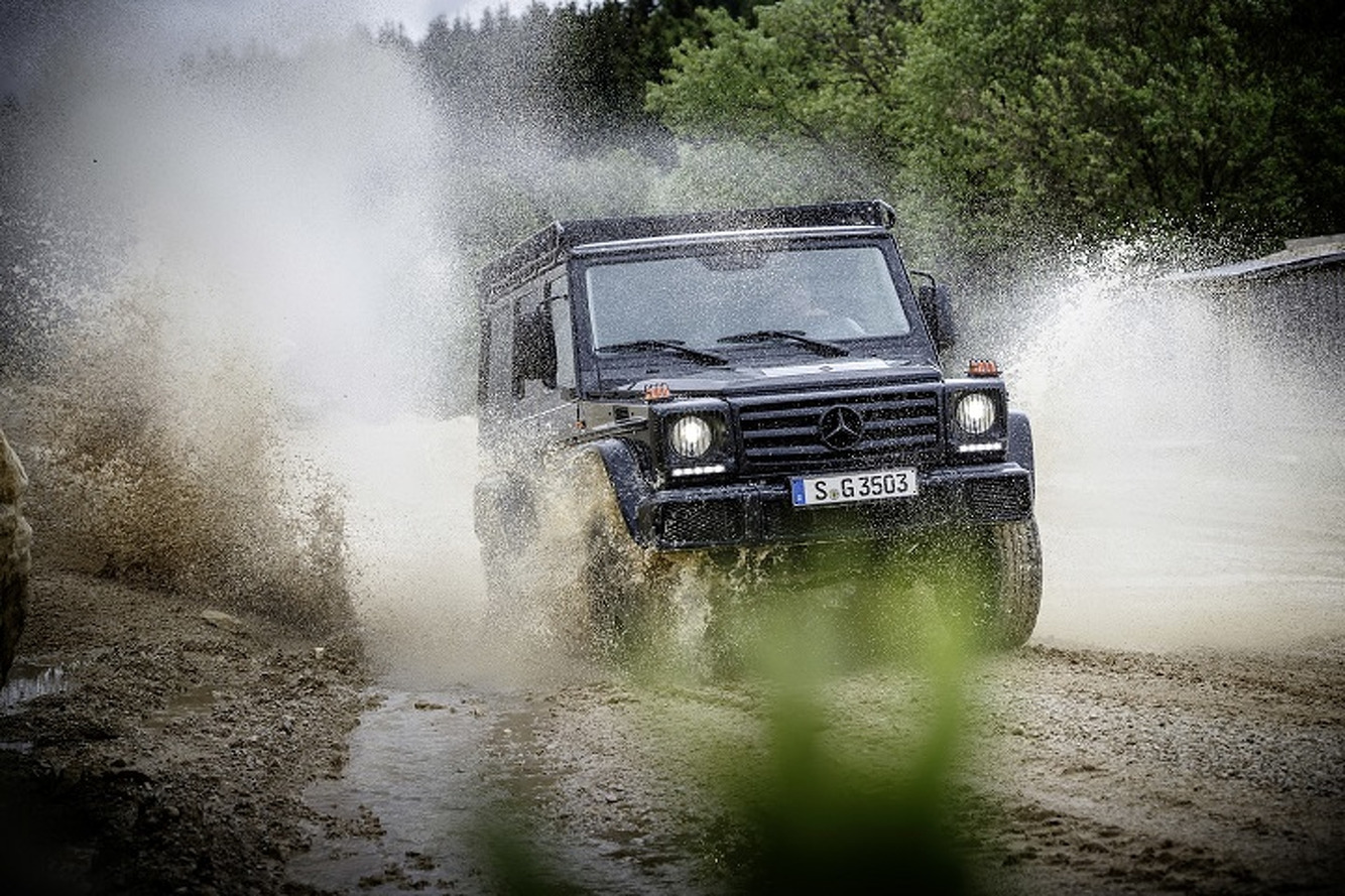 New Mercedes-Benz G350d Professional is Rough and Rugged