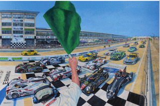 2013 Sebring Art Looks Much Better than Modern F1 Art