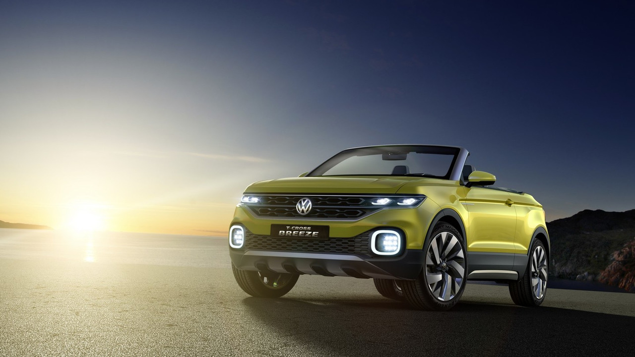 VW T-Cross Breeze concept