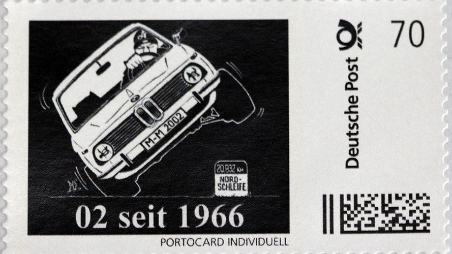 BMW 2002 stamp offers a fast way to send a letter