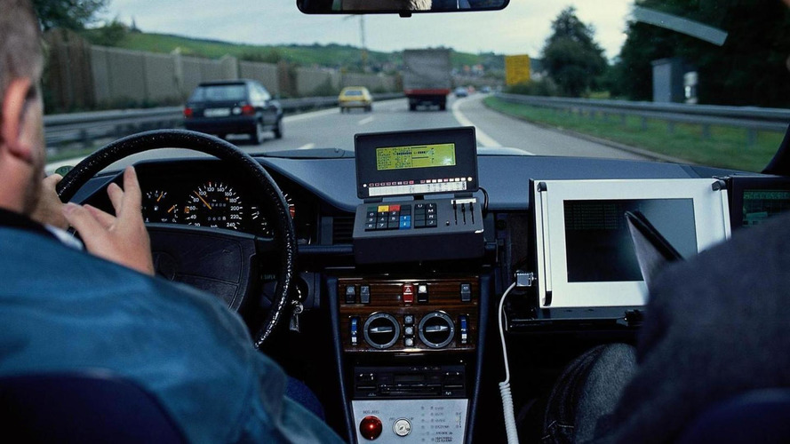 Mercedes takes a look back at their original autonomous driving system