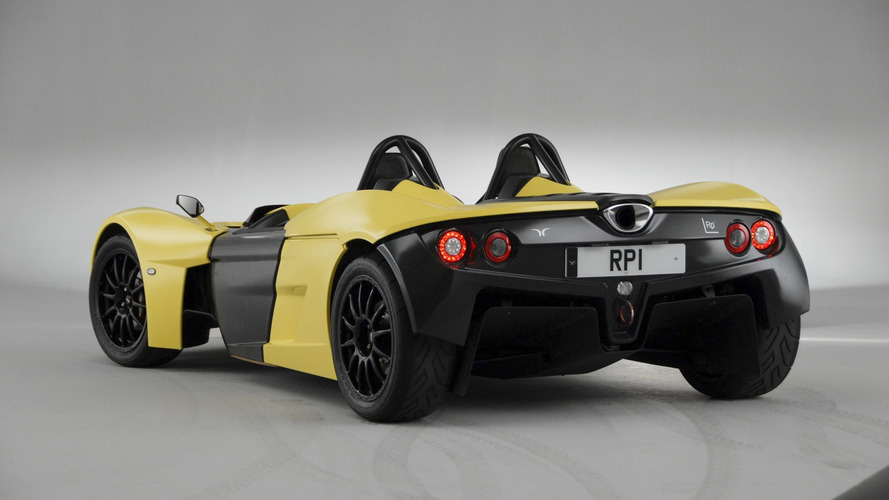 Elemental Rp1 generates 882 lbs of downforce at 150 mph
