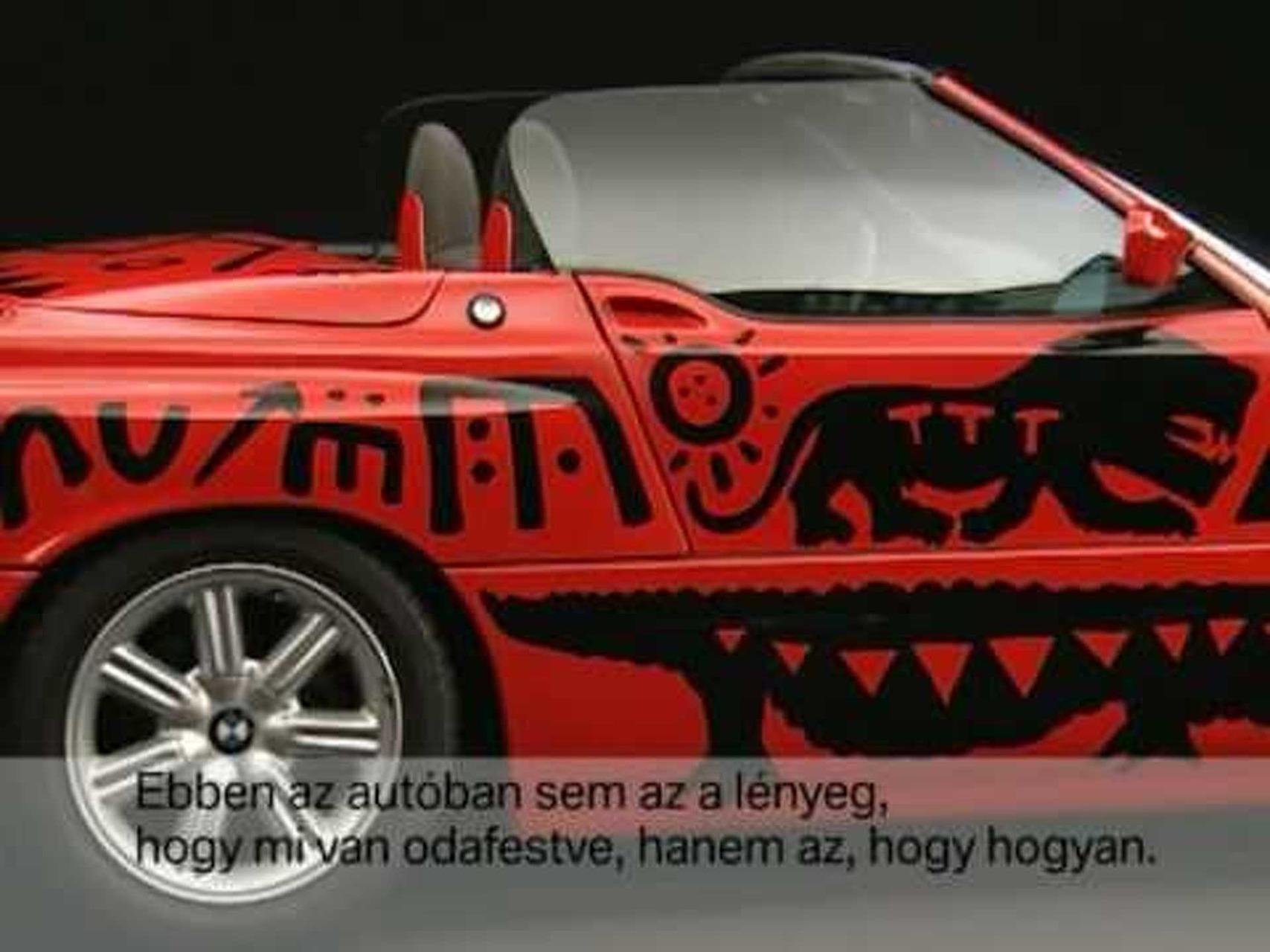 BMW Art Car - 1991 AR Penck Z1.mpg