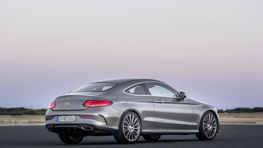 Mercedes-Benz details Euro-spec C-Class Coupe engines; five new videos released