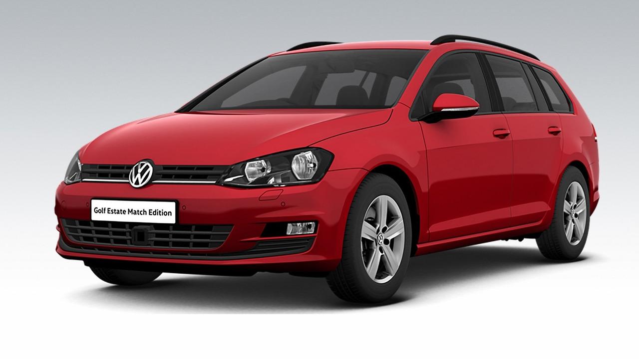 VW Golf Estate Match Edition