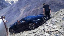 Bugatti Grand Tour 2017 e l'incidente sulle Ande