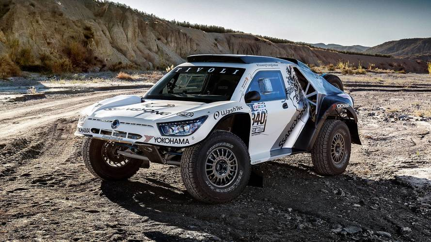 SsangYong presenta su buggy para el Dakar 2018: el Tivoli DKR