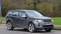 2020/2021 Land Rover Discovery Sport spy photo