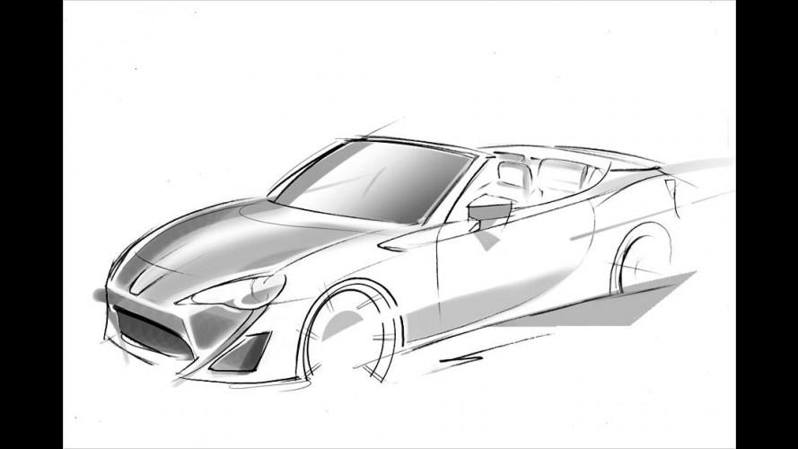 Toyota zeigt GT 86 Roadster