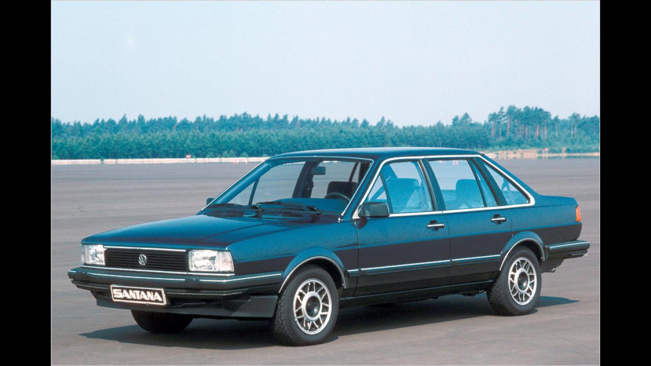 VW Santana: über 4 Millionen (seit 1981)