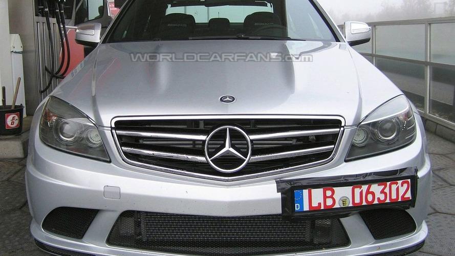 SPIED: Mercedes C 63 AMG Pace Car for DTM