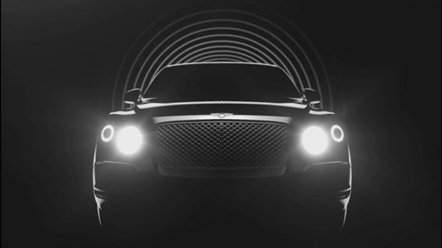SUV Bentley, online le prime foto e il VIDEO
