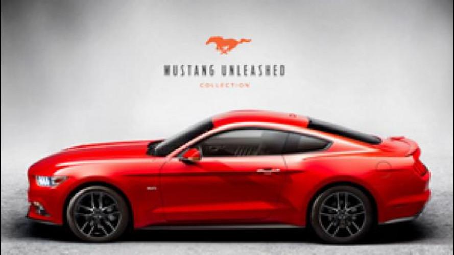 Ford Mustang diventa una linea d'abbigliamento