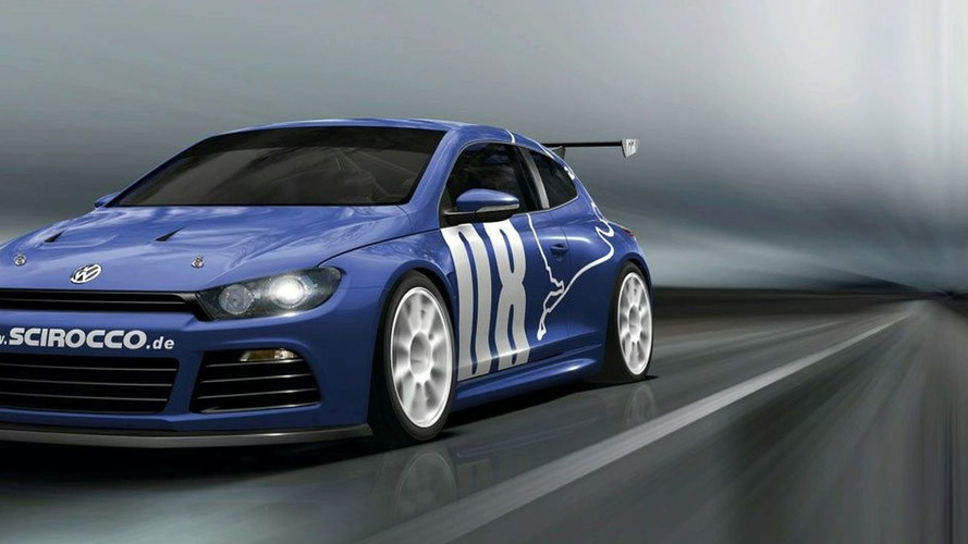 VW Scirocco R20T in the Works
