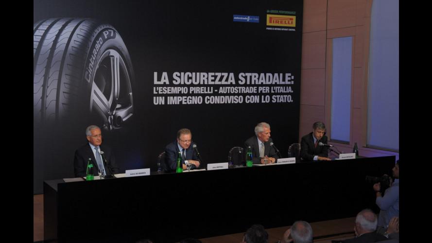 Pirelli e Autostrade per l'Italia lanciano