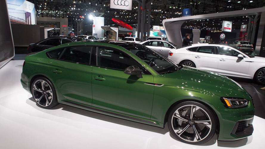 Audi Lacks Dual-Clutch Gearbox To Handle RS5 Sportback's Torque