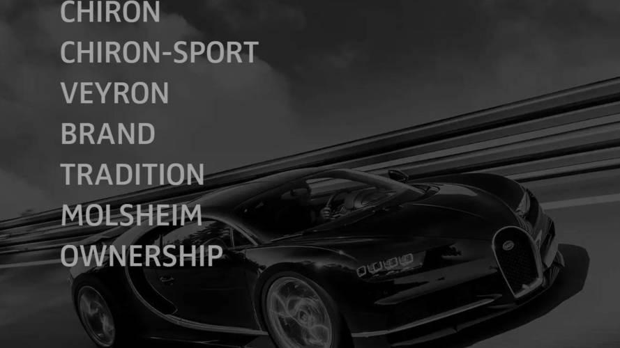 Watch Bugatti Reveal Something Shapely At The Geneva Motor Show
