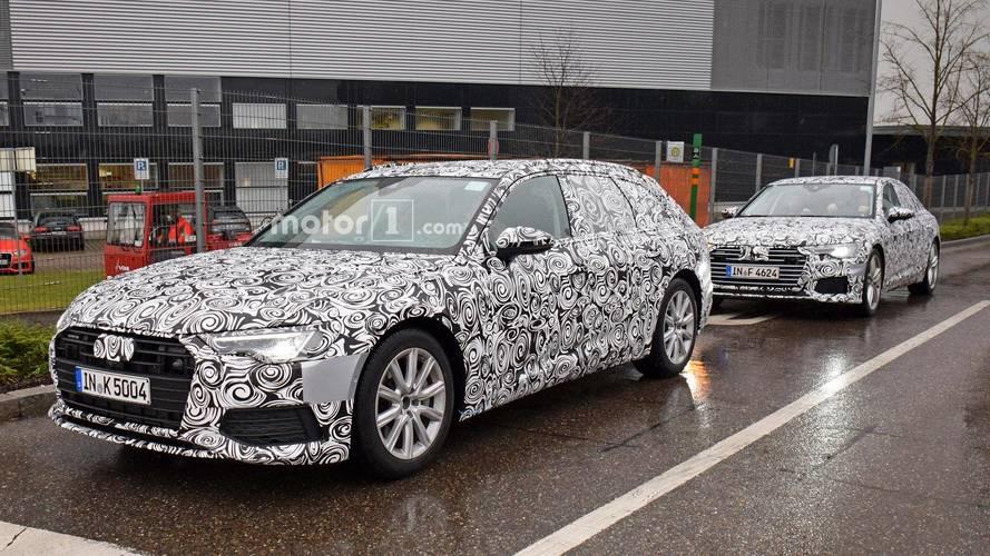 Photos espion - L'Audi A6 Avant est quasiment prête