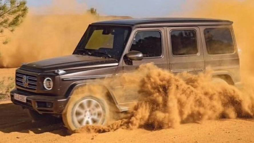 Uncovered Mercedes G-Class revealed in leaked images