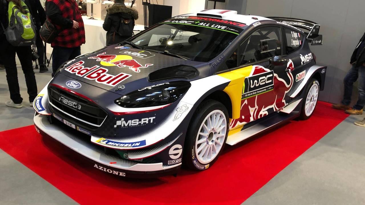 2018 Ford Fiesta WRC