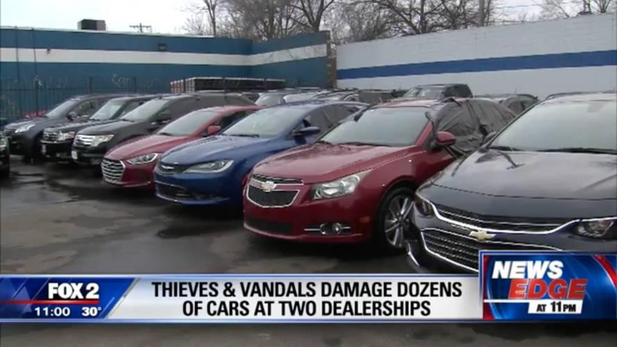 55 Cars Vandalized, Nearly 300 Windows Smashed At Dealership