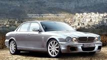 SPY PHOTOS: Jaguar XJ Facelift - Artist Impression