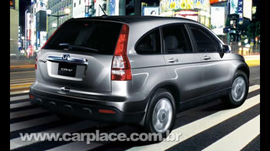 Honda CR-V Mexicana chega em março mais barata e com versão mais