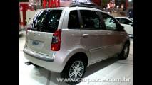 Salão do Automóvel 2008 - Fiat lança séries especiais Oro e Platino do Idea