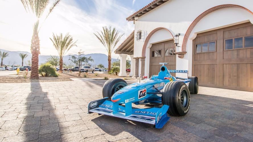Une Benetton F1 de 1998 à vendre pour près de 325'000 €