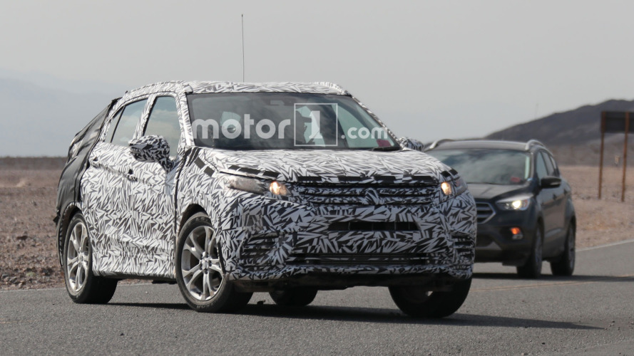 Mitsubishi caught testing production XR CUV