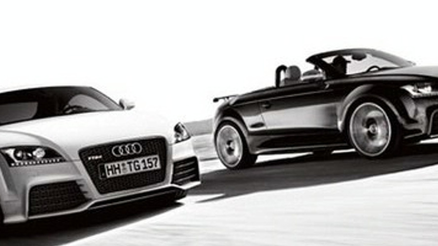 Audi TT RS Surfaces Ahead of Schedule