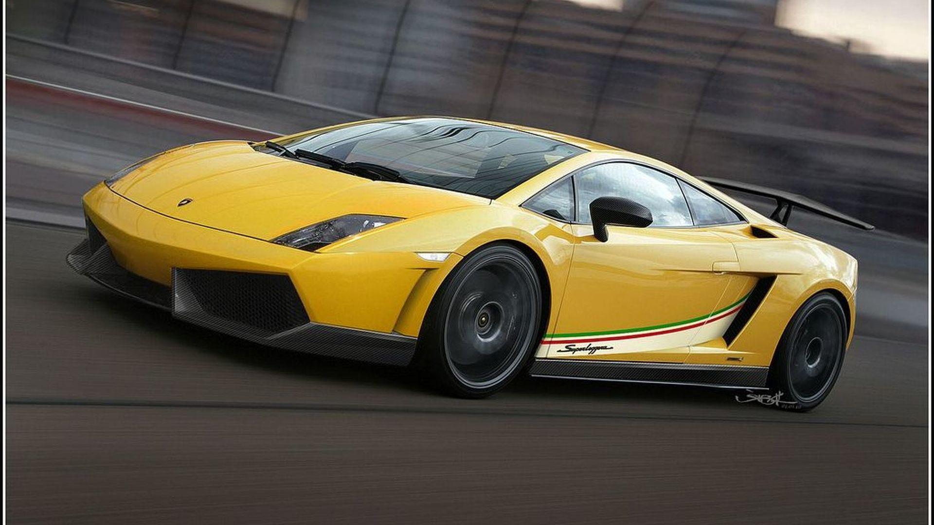 lamborghini gallardo lp570 4 superleggera further details and renderings surface - Lamborghini Gallardo Superleggera Lp570 4 Yellow