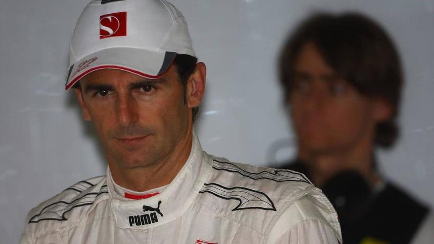 No sponsorship is 'handicap' admits de la Rosa
