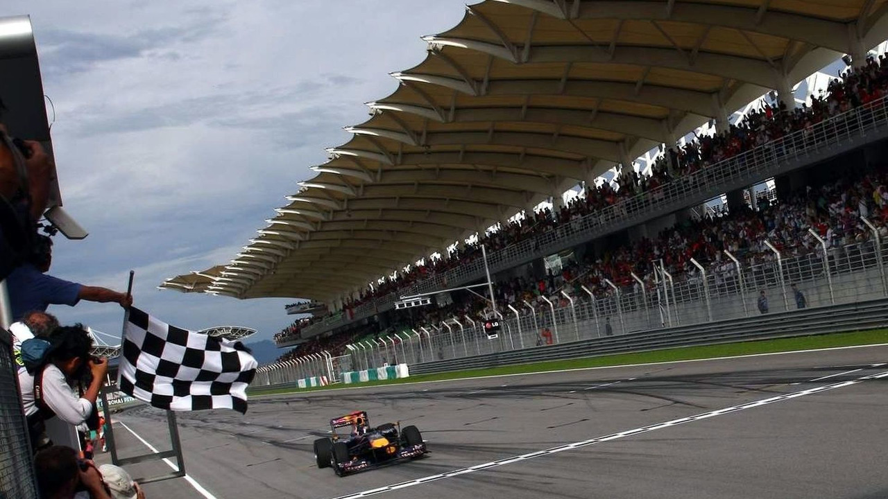 Sebastian Vettel (GER), Red Bull Racing, Malaysian Grand Prix, Sunday Race, 04.04.2010 Kuala Lumpur, Malaysia