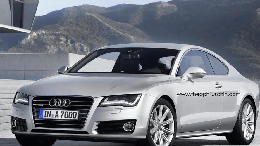 Rendered Speculation: Audi A7 Coupe