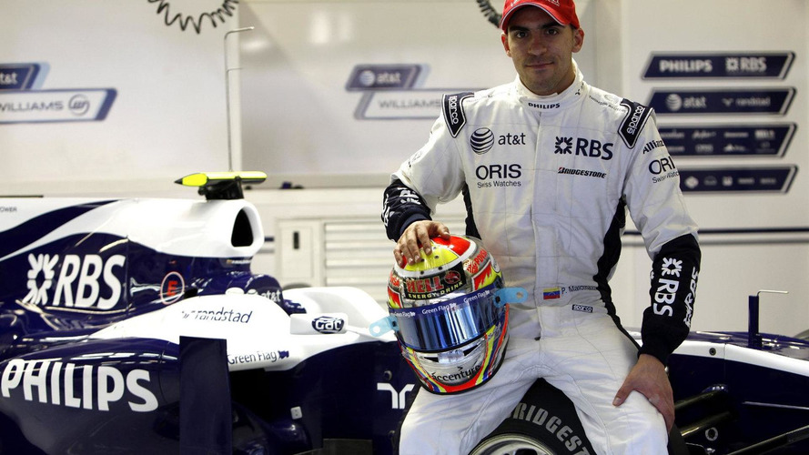 Williams completes 2011 lineup with Maldonado