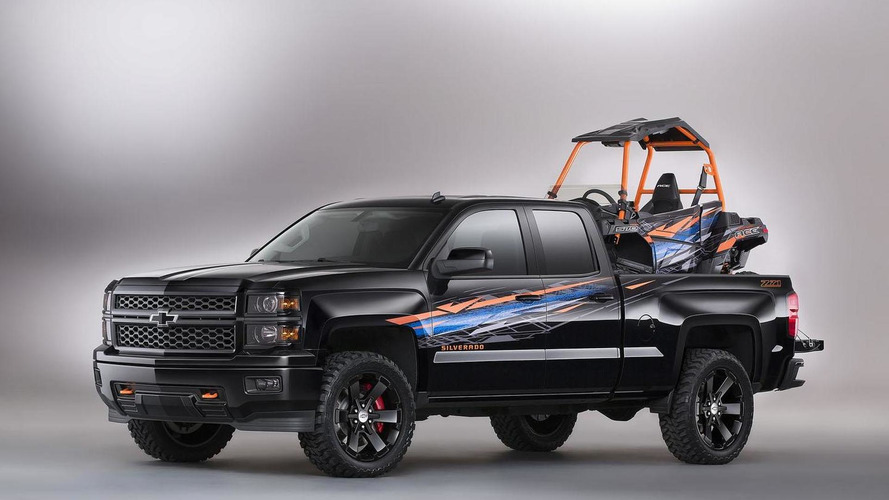Chevrolet Silverado Polaris ACE+ concept bows at SEMA