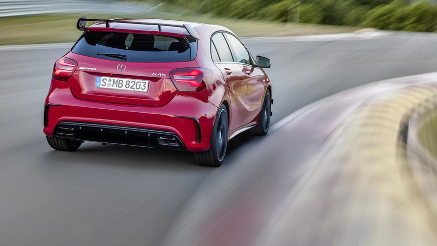 2016 Mercedes-Benz A45 AMG facelift
