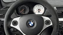 BMW steering wheel with iPod scroll wheels